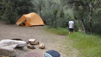 Camping with the Mountain lions in SoCal!